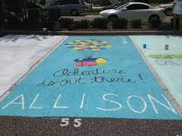 painted senior spots offer great opportunity for class fundraiser