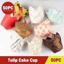 <b>50pcs Newspaper Style Cupcake</b> Liner Baking Cup For Wedding ...