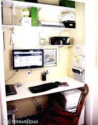 turn closet into office. Turn Closet Into Office Terrific A Desk Area Furniture Your .