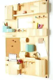 wall mounted desk organizer hanging