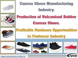 Shoe Making Process Chart Niir Project Consultancy Services