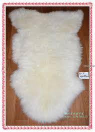 room stool dual sheepskin fur bedroom carpets home floor mats wool exercise carpets se