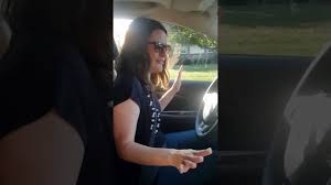 Girl poops in car