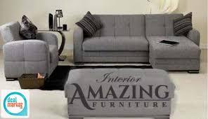 new modern l shape sofa five seater
