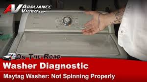 Washer Not Draining Or Spinning Washer Not Spinning Or Draining Maytag Whirlpoolroperkenmore