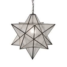 star pendant lighting. Moravian Star Seedy 1Light Geometric Pendant Lighting T