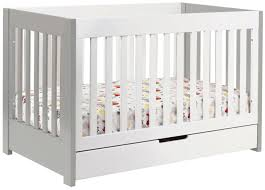 bedroom babyletto mercer  in  convertible crib white free shipping