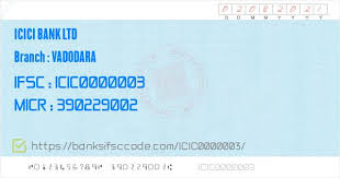 The ifsc code of the icici bank credit card is icic0000103, which consists of 11 digits, both numeric and alphabet. Gm8eawbytrw0am
