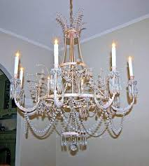 large swedish crystal chandelier by niermann weeks in excellent condition for in palm springs