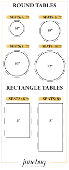 011 Reception Seating Chart Table Size Guide 600x1467