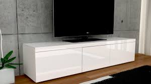 Zwevend Tv Meubel Hoogglans Wit 120