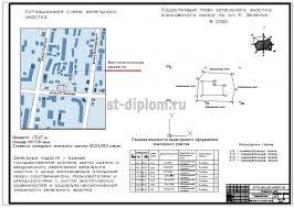 Управление объектом недвижимости на примере банковского офиса  4 Кадастровый план и ситуационная схема