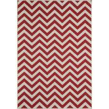 red chevron outdoor rugs