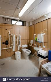 school bathroom. Disabled School Toilet And Shower Bathroom D