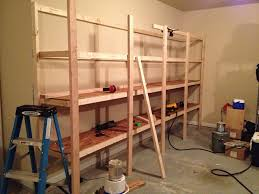 how to build diy garage shelves an in