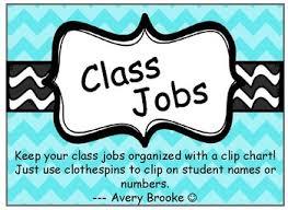Davis Clip Chart Class Jobs Clip Chart