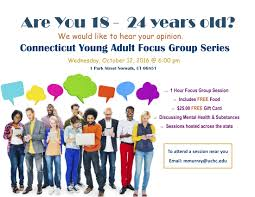 focus group flyers ct young adult focus groups sign up today turning point ct