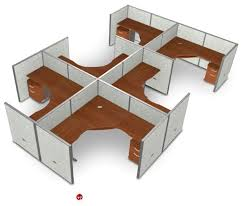 office desk cubicle. 6 Person L Shape Office Desk Cubicle Cluster Workstation