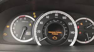 Honda Accord Emissions Indicator Light 2016 Honda Accord Problems All Dash Lights On