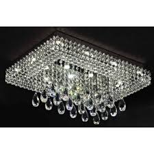 home and interior impressive flush mount crystal chandelier of silver orchid taylor chrome free from