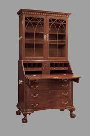 image of photos of antique secretary desk