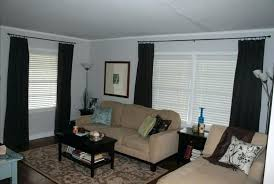 gray and brown curtains curtains gray curtains brown couch