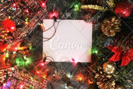 Blank Christmas Background Christmas Background Blank Paper Photos By Canva