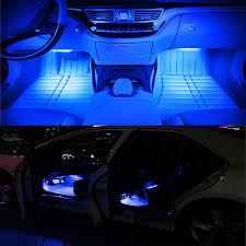Blue Led Lights For Car Details About Blue Led Atmosphere Lights Car Interior Floor 36 Led Decoration Lamp For Toyota
