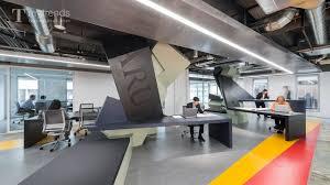 office space architecture. Arup Satellite Office Space In Downtown LA Designed By Zago Architecture For Activity-based Working - YouTube T