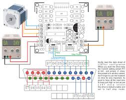 l298 and l297 based high cur stepper motor driver with mach 3 interface 6