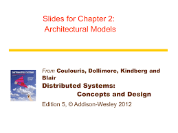 Distributed Systems Concepts And Design Fifth Edition Chapter 2 Distributed Systems Concepts And Design Fifth
