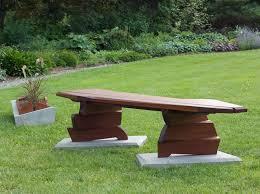 Rustic Wood Outdoor Bench U2013 Mortise U0026 TenonOutdoor Benches