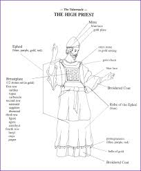 Free coloring pages of kids heroes. Print Version Color The Clothing Of The High Priest Kids Korner Biblewise High Priest Priest Childrens Church Lessons