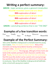 transition sentences examples for essays opening sentences for  to write a summary of an essay how to write a summary of an essay transition