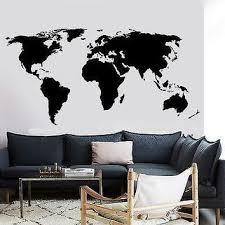 best world map vinyl wall decal