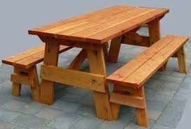 picnic table plans detached benches round wood picnic table round wood picnic tables with detached benches picnic table