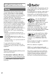how to install wiring harness for a sony cdx gt630ui sony cdx operating instructions page 2