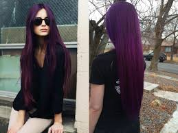 Images Of Deep Purple Hair Color