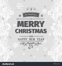 merry christmas card black and white. Interesting White Merry Christmas Greetings Black And White Card With Letters On Light  Gray Background Snowflake With Card Black And White Shutterstock