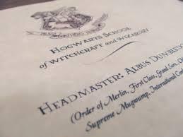 printable hogwarts acceptance letter template intended for hogwarts acceptance letter template