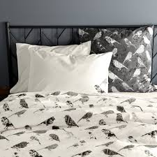 amazing botanical bird duvet cover standard pillowcase set for bird duvet cover