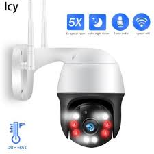<b>Icy 1080P PTZ</b> IP Camera 5X Zoom Auto Metal Outdoor Wireless ...