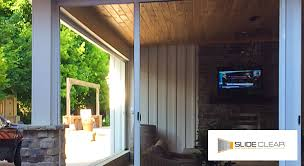 retractable screen doors. Slide Clear Retractable Screen Doors In Los Angeles