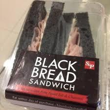 Black Bread Sandwich Hamcheese Khlongtan Nueas Sp Restaurant
