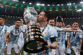 Maybe you would like to learn more about one of these? Copa America Messi Beendet Fluch Argentinien Schlagt Brasilien Focus Online