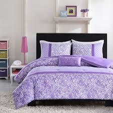image of purple comforter twin ideas