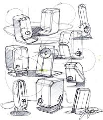 industrial design sketches. Sketch-A-Day 157: Speakers | Sketch- · Product Design Industrial Sketches