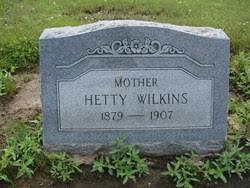 Hetty Johanna Hilton Wilkins (1879-1907) - Find A Grave Memorial