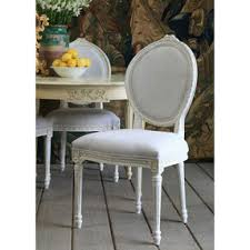 louis upholstered dining chair antique white white upholstered dining chairs s78