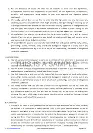 music management contract artist management contract template best resumes
